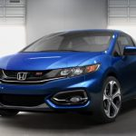 В сеть выложено компьютерное изображение новой Honda Civic SI