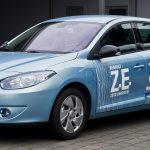Модель Renault Fluence Z.E. для Китая замечена «голой»