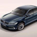 Компьютерное изображение обновленного Phaeton от Volkswagen уже попало в сеть