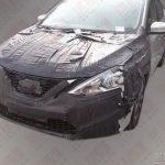 Изображение обновленного Nissan Sentra уже в сети