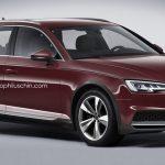 В сети появился компьютерный снимок новой Audi A4 Allroad