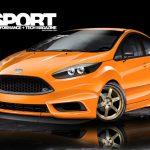 На SEMA компания Ford покажет два мощных автомобиля Fiesta ST