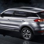 Опубликованы данные относительно новинки SUV NL-3 от китайского бренда Geely
