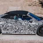 В Германии испытывается замаскированная новинка Audi R8 Spider 2017