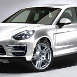 Компьютерная картинка обновленного Porsche Cayenne 2017 уже в сети