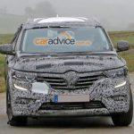 Шпионы опять сняли новый кроссовер Renault Koleos на тестовых заездах