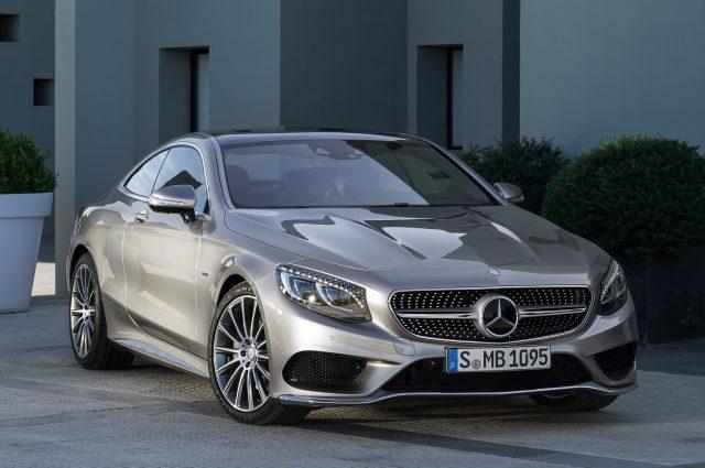Доработанный S-класс от компании Mercedes-Benz уже тестируется
