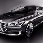 Официальный набросок новой модели Genesis G90 уже опубликован