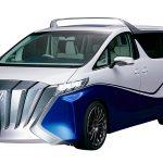 Японская Toyota показала новинку с откидным верхом Alphard Hercule
