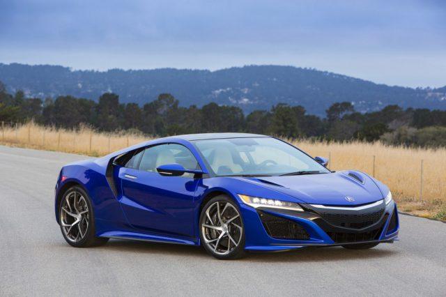 В Лос-Анджелесе продемонстрирована новая модель NSX от Acura
