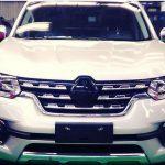 Серийная модель огромного Renault Alaskan стала жертвой шпионов