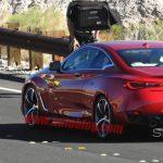 Шпионы «поймали» серийную версию Infiniti Q60 Coupe без маскировки