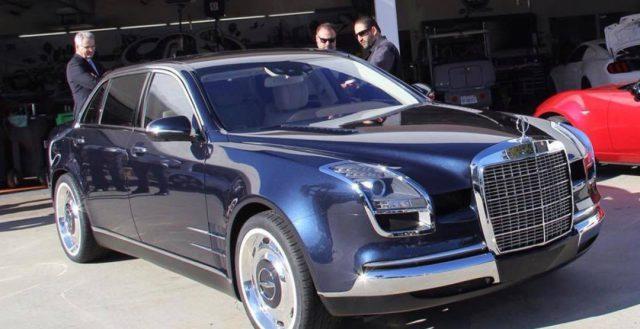 Четырехдверка в ретро стиле Mercedes-Benz вышла под брендом Galpin Auto Sports из США