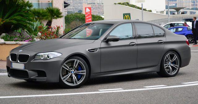 Новинка BMW M5 появится система привода на все колеса