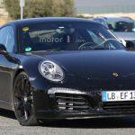 Очередное поколение 911 от Porsche проходит испытания