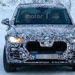 На шпионских кадрах видно новые LED-фары на новой Audi Q5