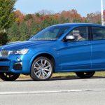 Новинка BMW X4 M40i сфотографирована шпионами