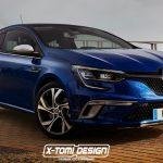 Компьютерный снимок нового Renault Megane Coupe GT уже появился в сети