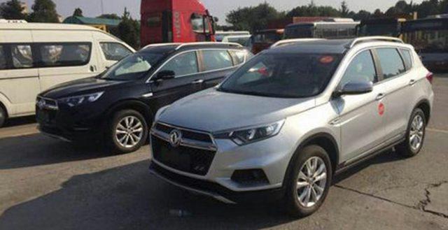 Шпионы разместили в сети данные о новом вседорожнике из КНР Dongfeng Fengdu MX5