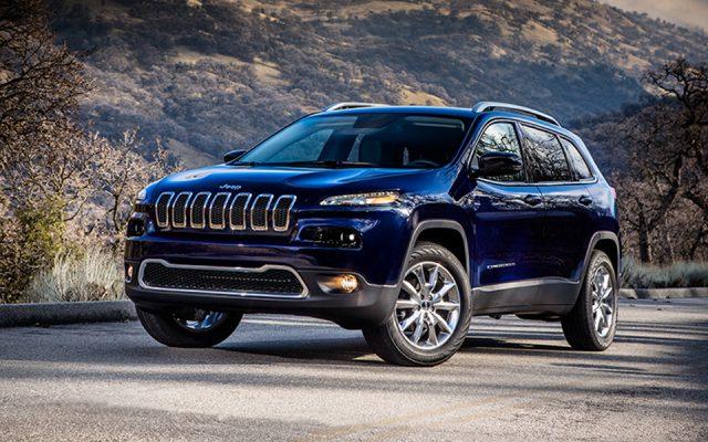 Около тысячи моделей вседорожника Jeep Cherokee будут отозваны в РФ
