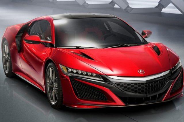 В Детройте покажется концептуальная версия седана Acura Precision
