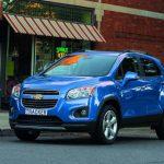С российского рынка ушла модель Chevrolet Tracker