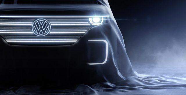 Немецкий бренд Volkswagen представила прообраз нового электрического автомобиля