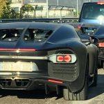 Шпионы выложили в Интернет снимки фотографий Bugatti Chiron