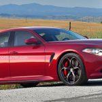 В Интернете были выложены компьютерные изображения нового Alfa Romeo Giorgio Quadrifoglio