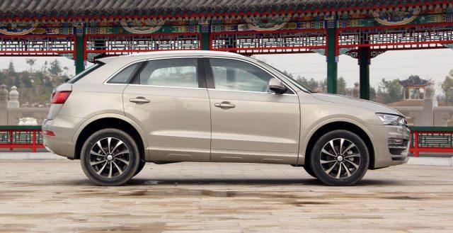 Стала известна стоимость китайского кросса Zotye SR7