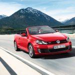 Модель Volkswagen Golf GTI с откидных верхом получила ряд доработок