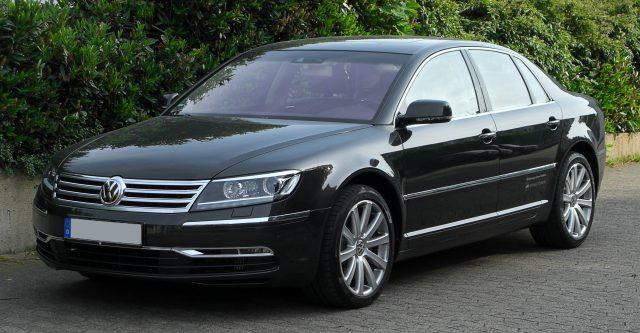 Модель Volkswagen Phaeton уходит из модельного ряда компании