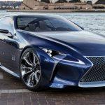 В Детройте покажут новую серийную модель Lexus LF-LC