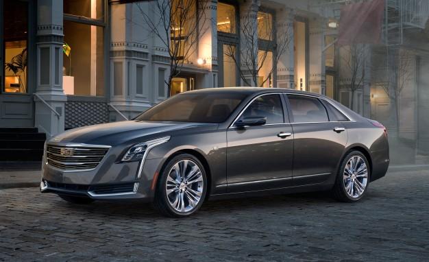 Гибридная модель китайской сборки Cadillac CT6 2017 модельного года приедет в Соединенные Штаты