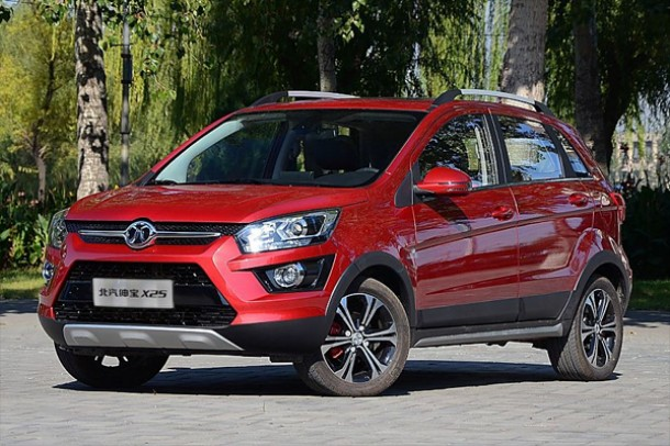 Новинка Beijing Auto Senova X25 уже продается в Китайской Республике