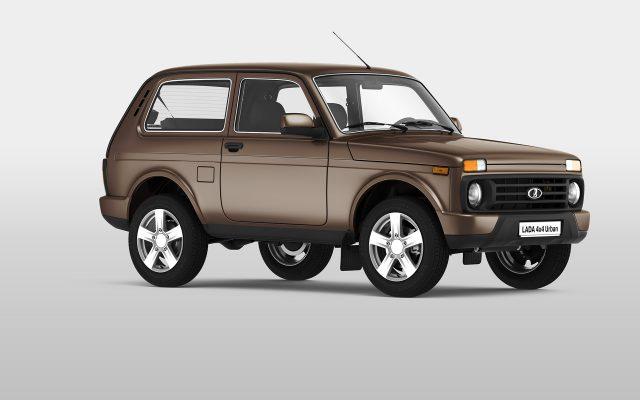 Российский внедорожник Lada 4х4 будет оборудоваться совершенно новой подвеской