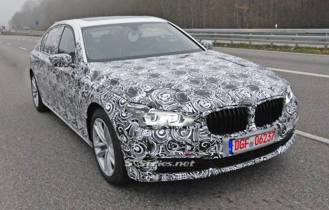 Доработанный BMW 5-Series уже тестируется на территории Германии