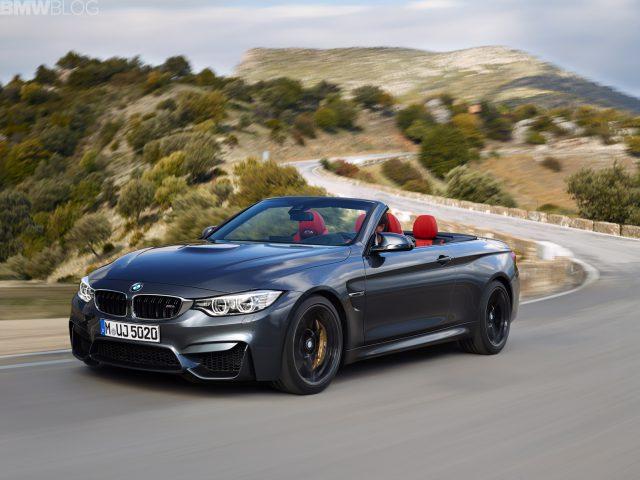 Производитель добавил мощности своей модели BMW M4 Convertible