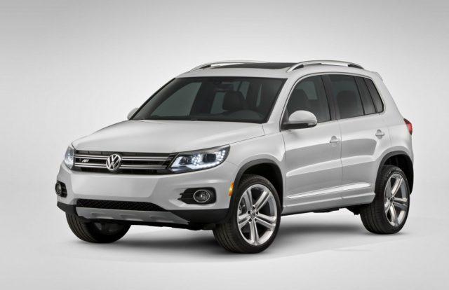 На выставке в Детройте зрители увидят гибридную версию кросса Volkswagen Tiguan