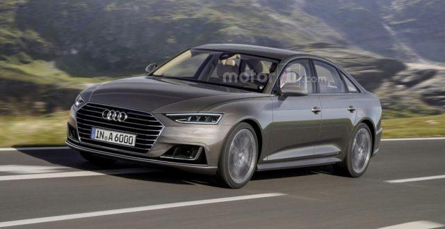 В Интернете появилось компьютерное изображение новинки A6 от Audi