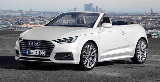В Интернете выложен первый рендер новинки Audi A1 с откидным верхом
