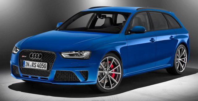 Новый и мощный автомобиль Audi RS4 будет работать на автоматической трансмиссии