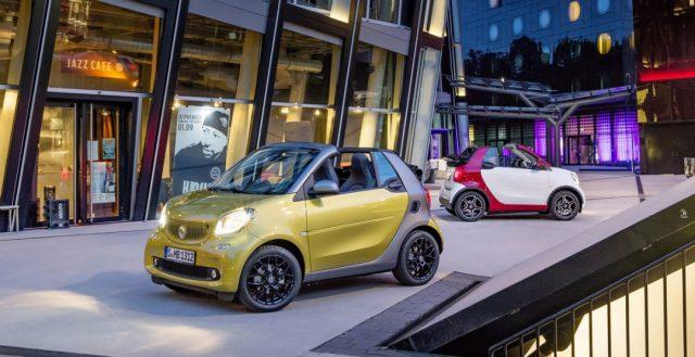 Новинка Smart Fortwo Cabrio будет продаваться на рынке РФ уже в середине этого году