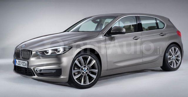 Вышел первый компьютерный снимок нового хэтчбека 1-ой серии от компании BMW
