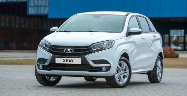 В прошлом месяце было реализовано больше 100 000 автомобилей модели Lada Xray