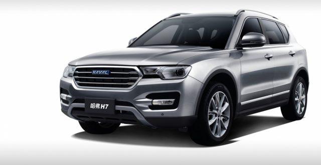 Модель Haval H7 уже официально начал продаваться на китайском рынке