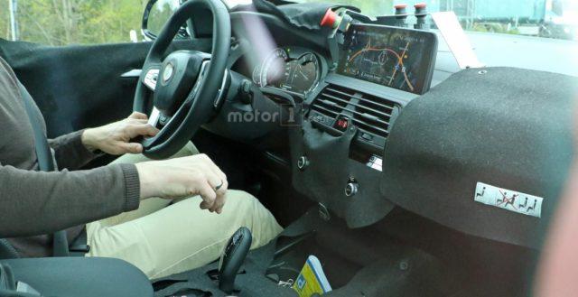Автомобильные шпионы разглядели салон новинки БМВ Х3