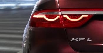 В Интернете появилась реклама новой модели Jaguar XF L перед пекинским показом