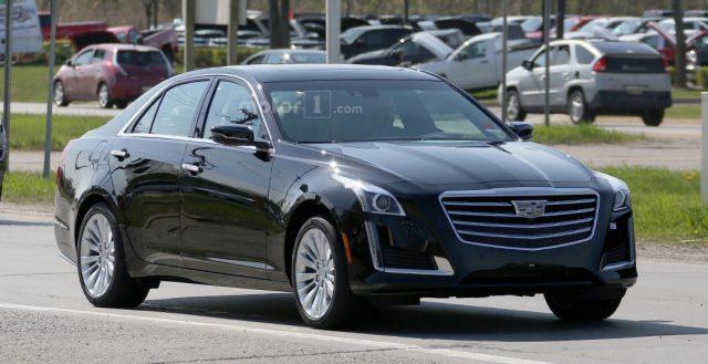 Доработанная модель CTS от компании Cadillac уже тестируется