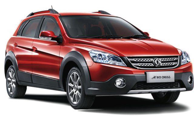Российская версия Dongfeng DFM H30 Cross получила привлекательный ценник